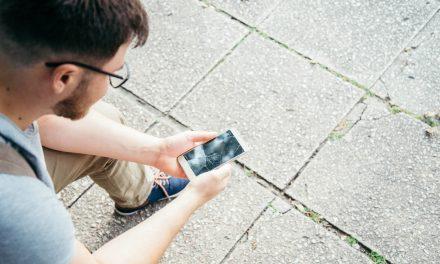Como fazer backup de celular com a tela quebrada?